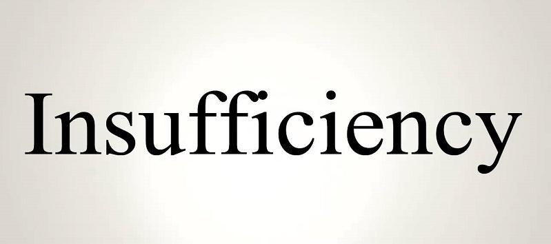 Vocabulary insufficiency