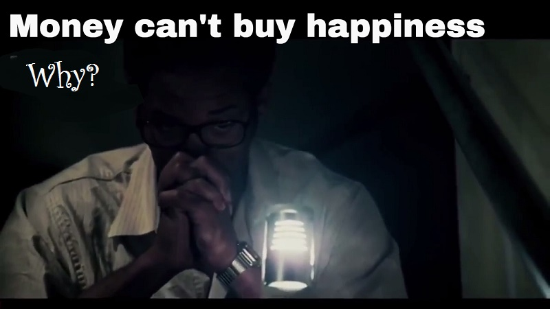 Why can't money buy happiness