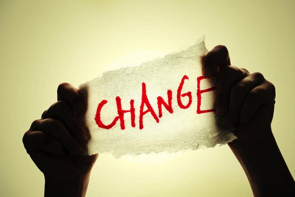 start changing