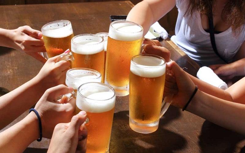 the alcohol consumption