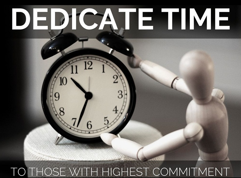 Dedicate time