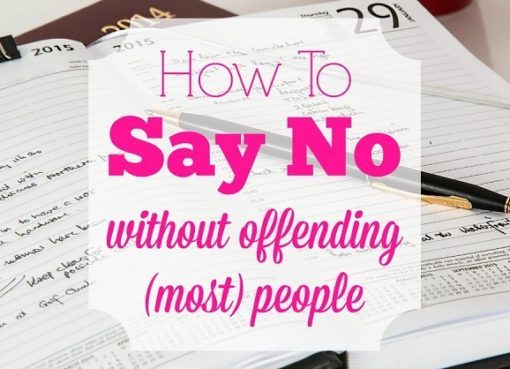 How to say no without offending