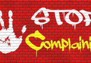 How to stop complaining so much