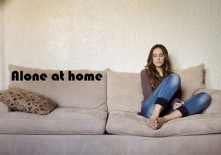 How to pass time alone at home