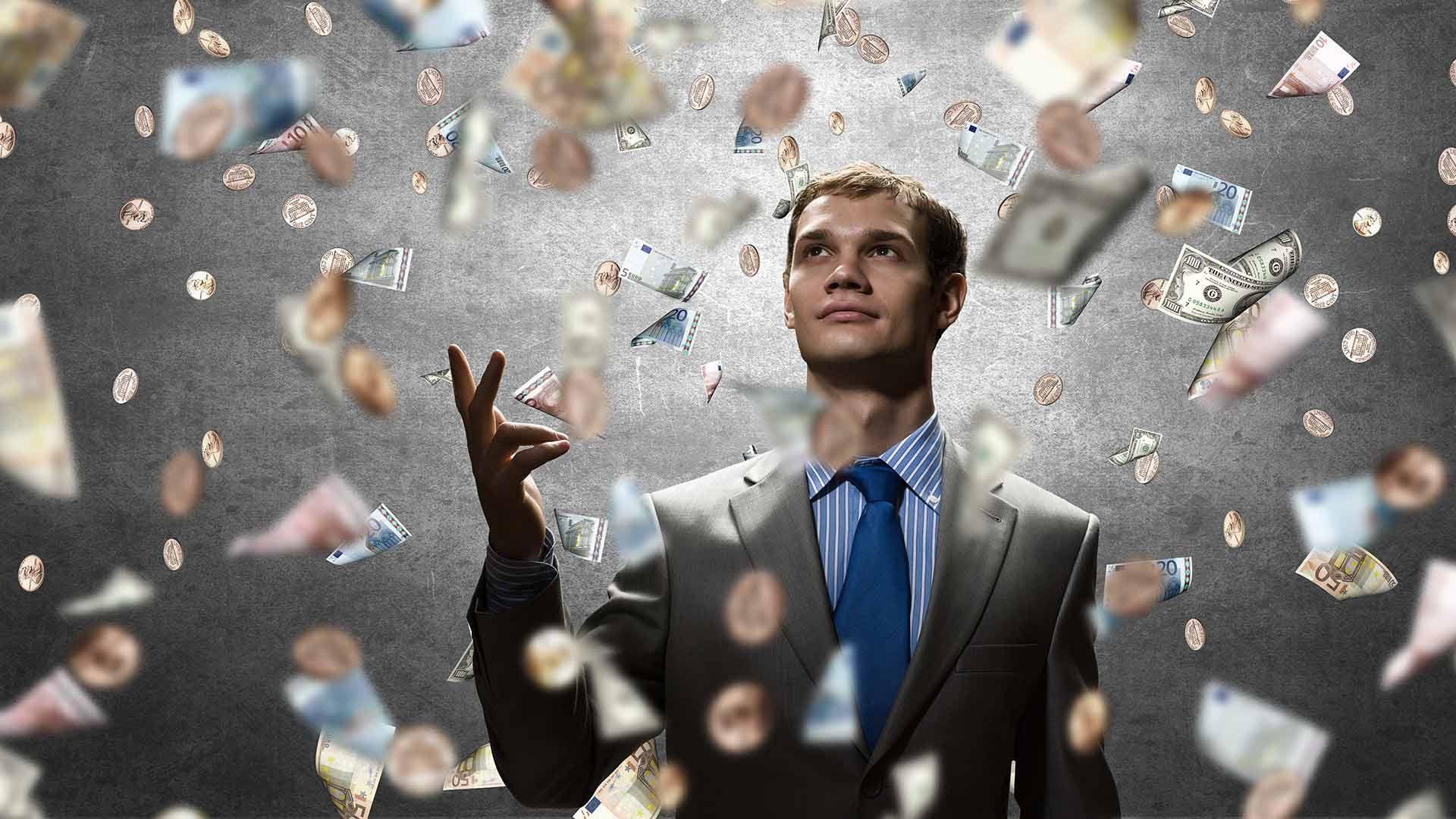 The rich person