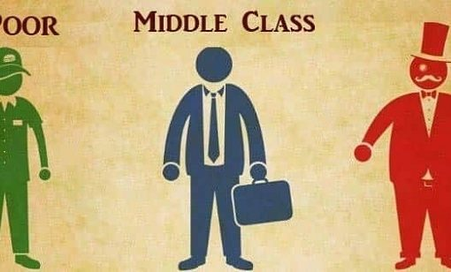 poor vs middle class vs rich