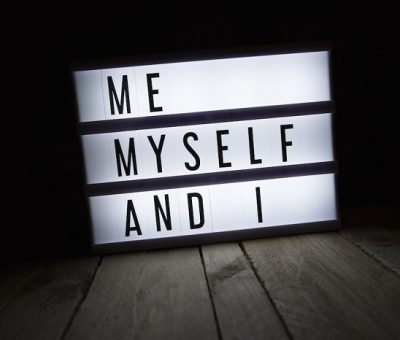 how to stop being self centered
