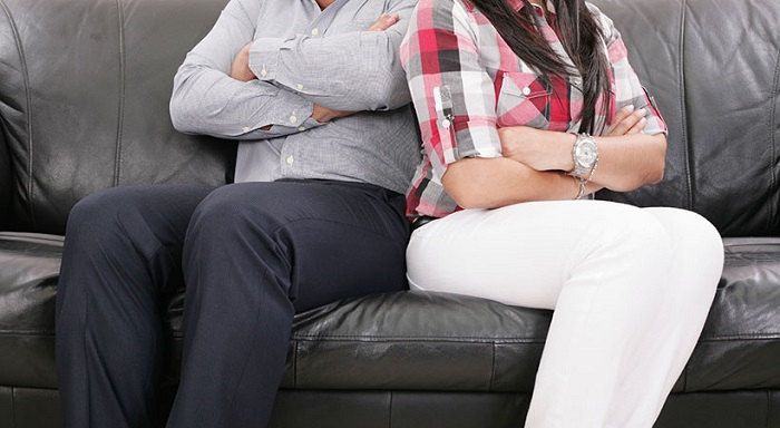 my husband doesn't like my family